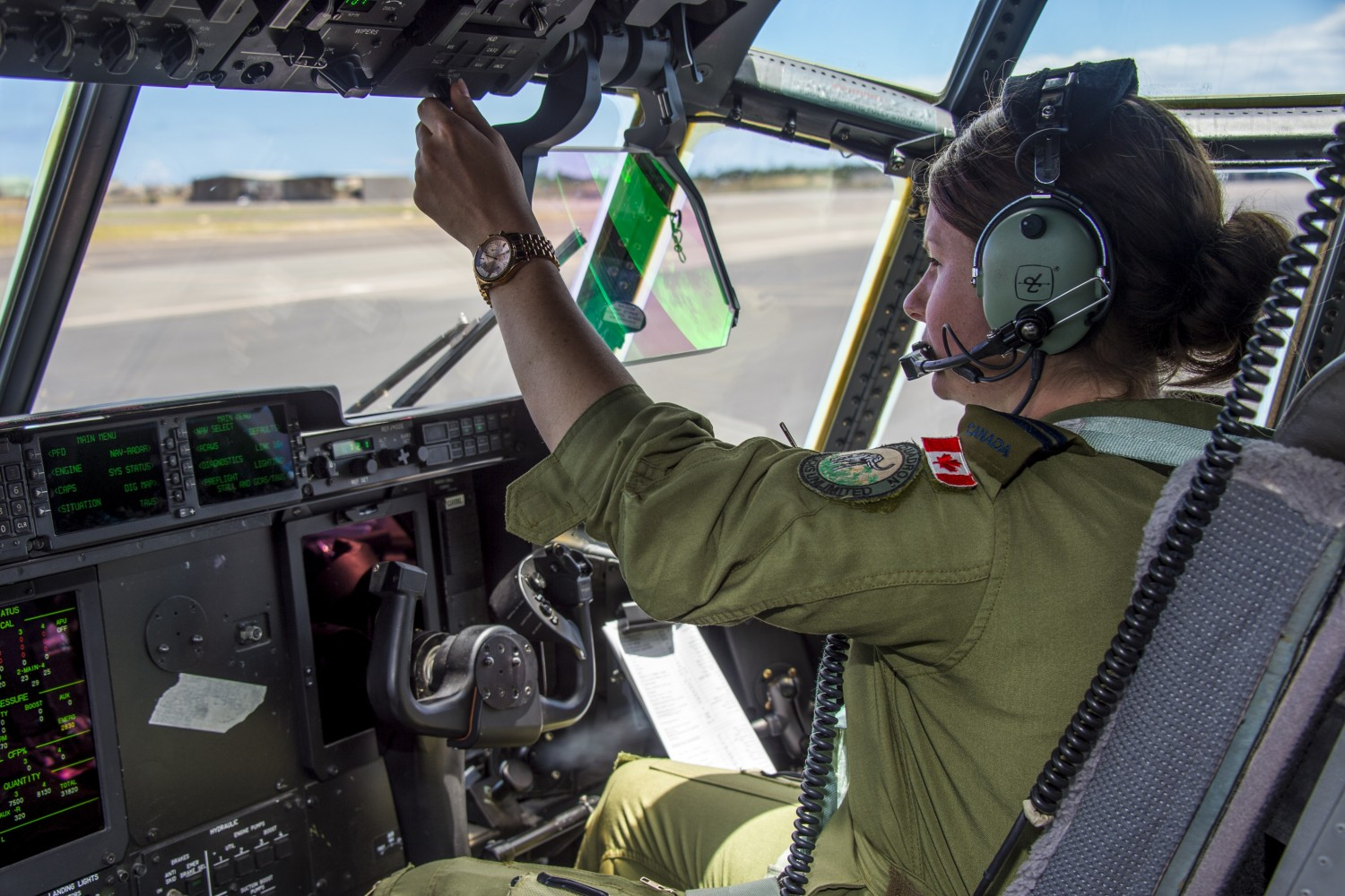 Woman Canadian Military Pilot Canadian Women in Aviation